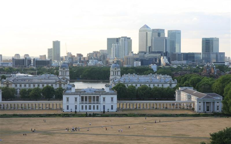 Royal Naval College & Canary Wharf, London, United Kingdom