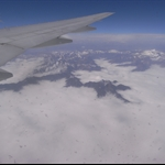 10 min before landing in chengdu