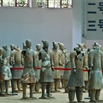 terracotta army at Pit one