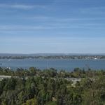 View of Swan River from King