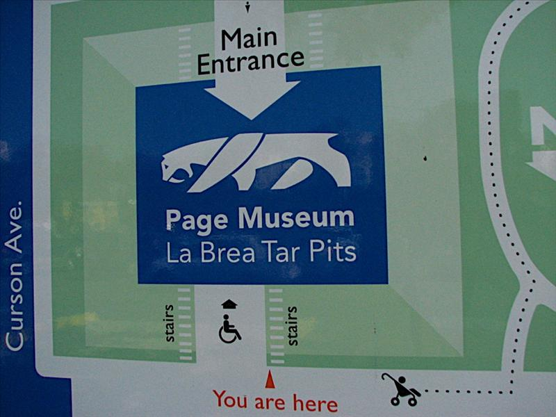 La Brea Tar Pit and Page Museum