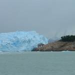 Perito Moreno from the Boat