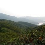 東面的大潭山谷