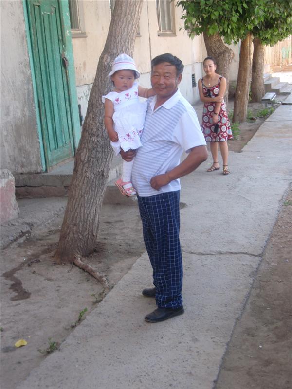 Dawa and granddaughter