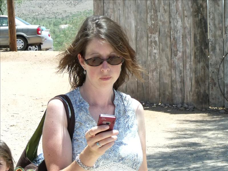 Got caught texting