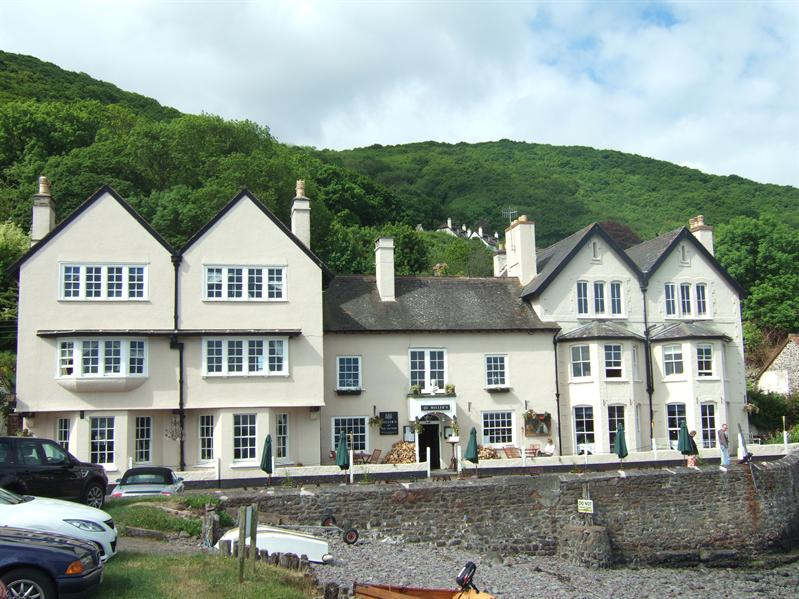 Porlock Weir - The Anchor Hotel