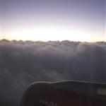 18.22 - going through the clouds of Mumbai