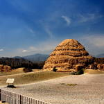Western Xia Kingdom Tombs(西夏王陵),Ningxia(宁夏),China ,Jun 2011