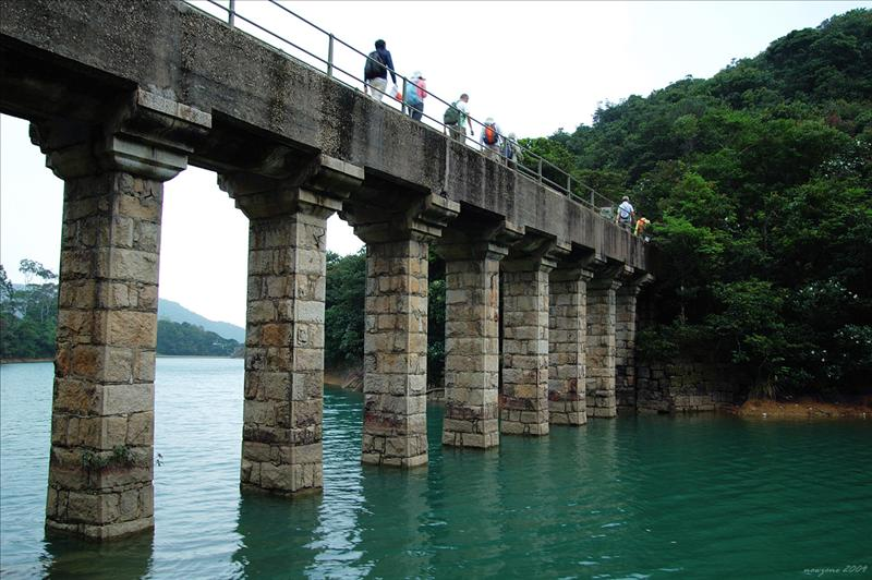 大潭上水塘石砌輸水道 Tai Tam Upper Reservoir Masonry Aqueduct 1883 - 1888