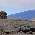 Opfergabe am Mauna Kea
