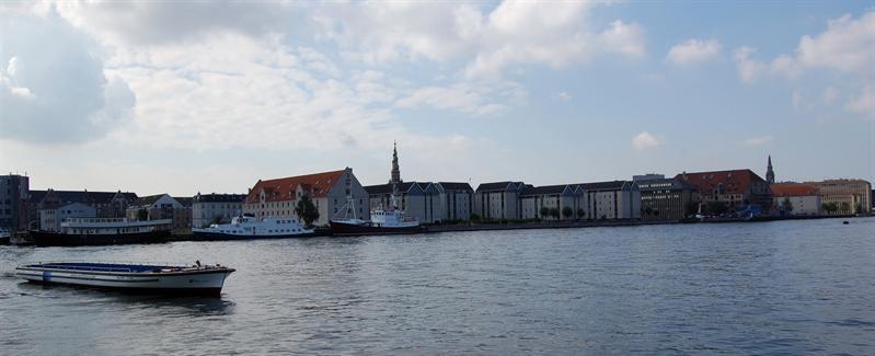 View from the harbor - Copenhagen