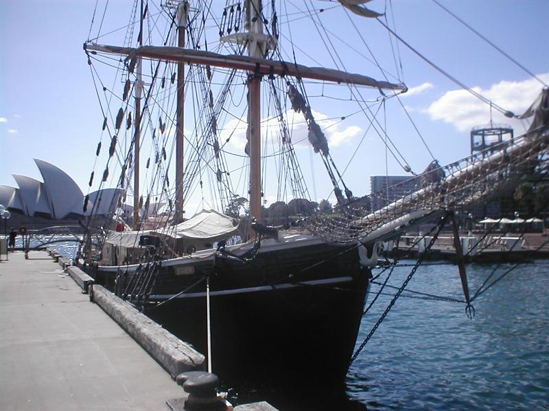 A vessel in Sidney