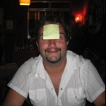 Fernando getting us into the Post-Its!