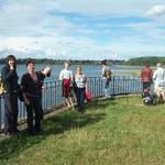 Walk and Tea at Pitsford August 2011
