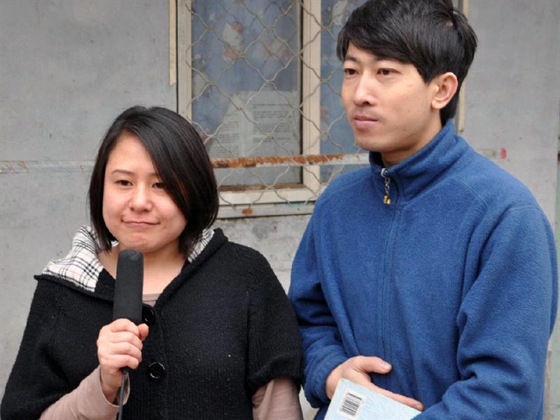 郑杰和他的女友