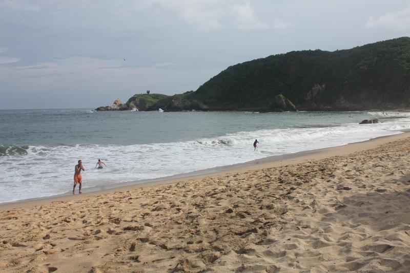 Mazunte beach...