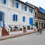 Cycling around Luang Prabang..