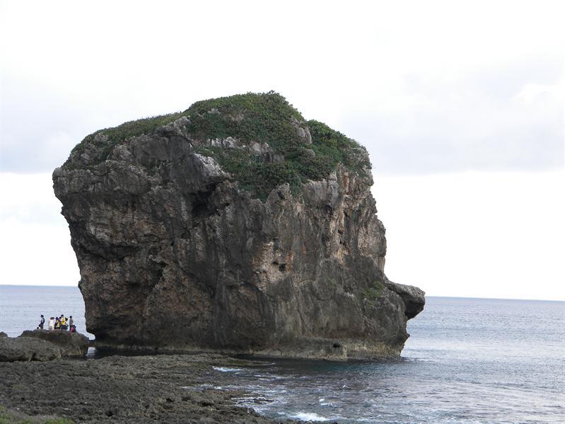 墾丁船帆石