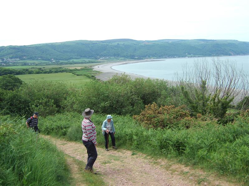 Walk around Bossington Hill