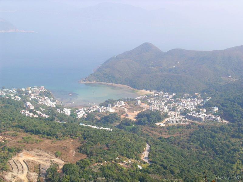 Beach at Sheung Sze Wan相思灣