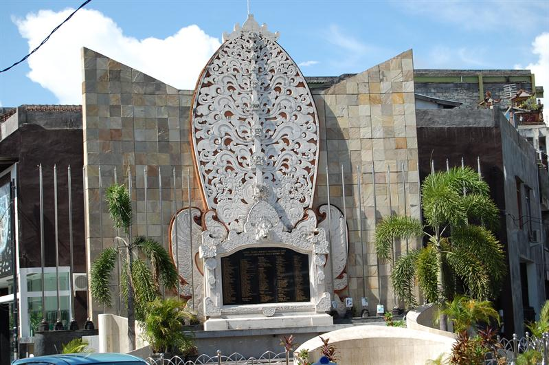 the monument for Bali's bomb victim