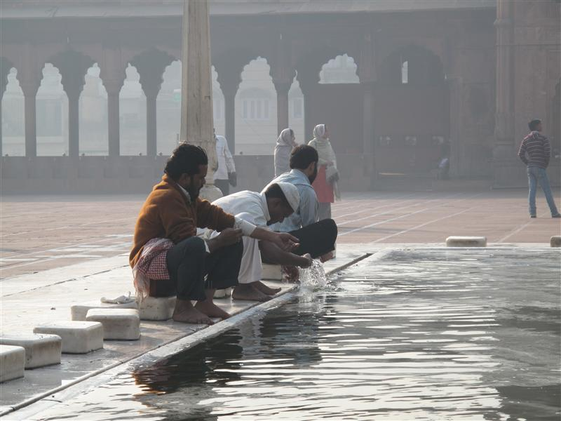 Locals - Jama Masjid