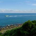好藍的海: )