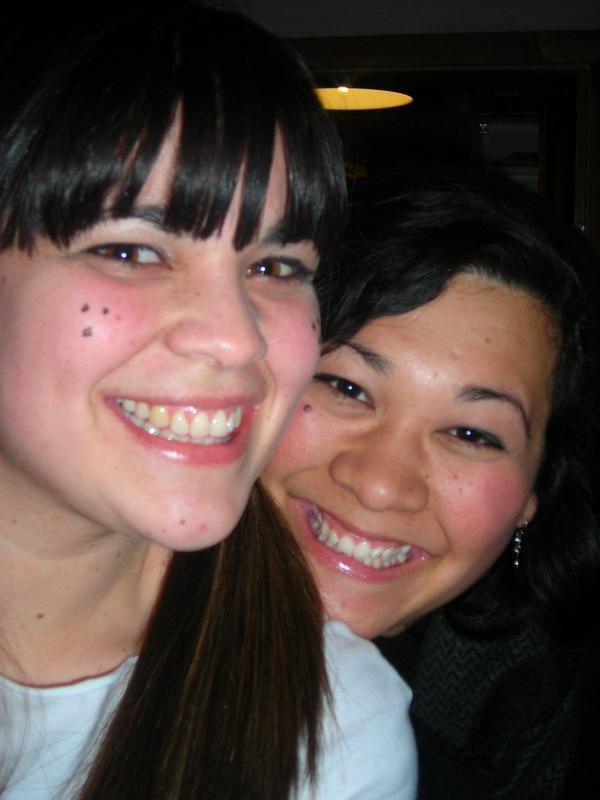 Tess and I