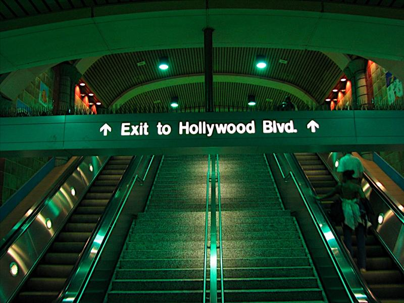 Hollywood Subway station
