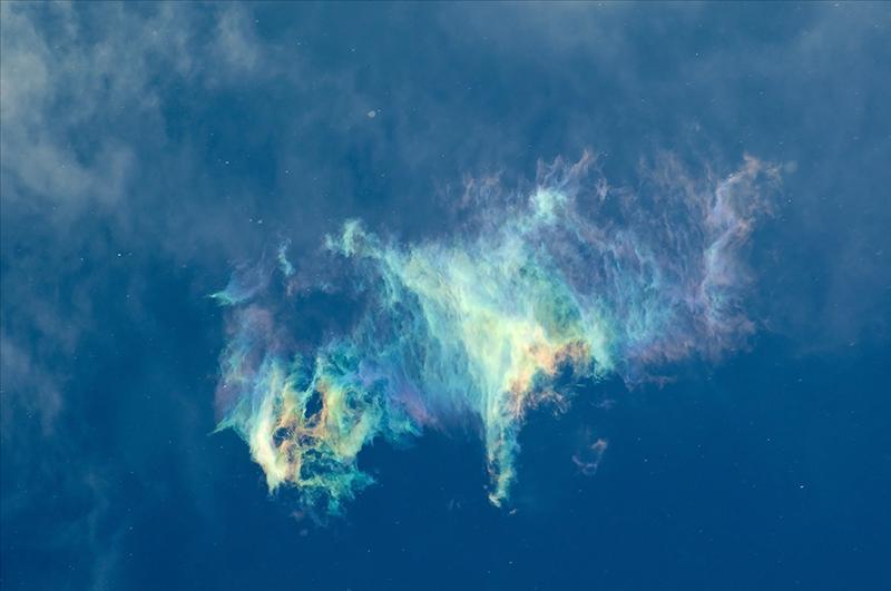 天上的彩云 像狮子2