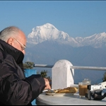 Annapurna Treks - Breakfast in the mountain...