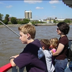 on the Mighty Mississippi river