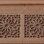 Islamic design in the wall