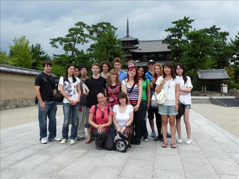 the group that went to nara