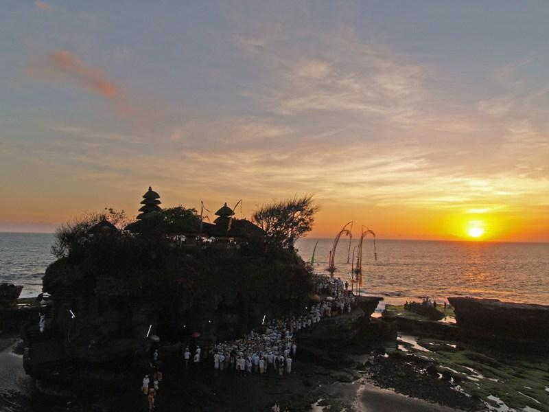 Sunset on Pura Luhur Uluwatu