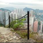 港島徑第二段下望香港仔