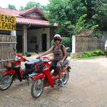 Spending time scootering around Vang Vieng and the surrounding countryside...