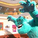 20130623 時代廣場怪獸大學展覽  Monster University