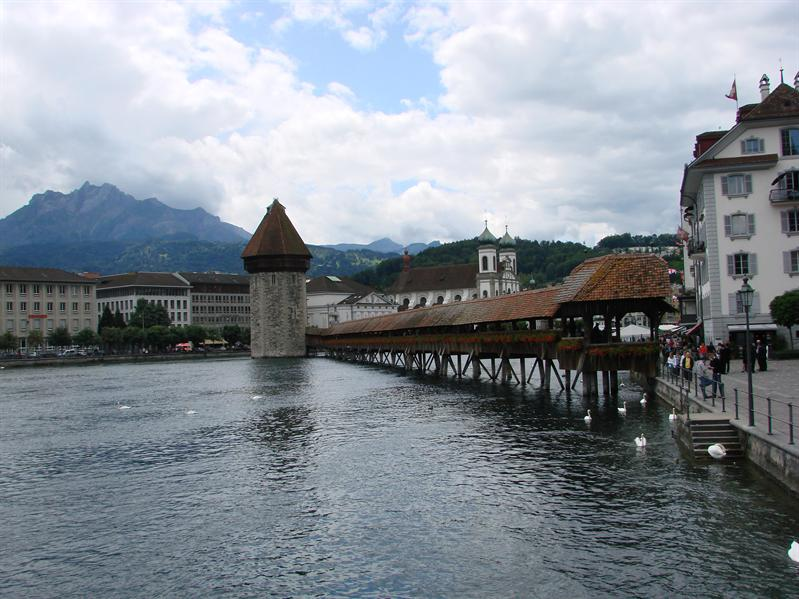 Lake Lucerne Bridge