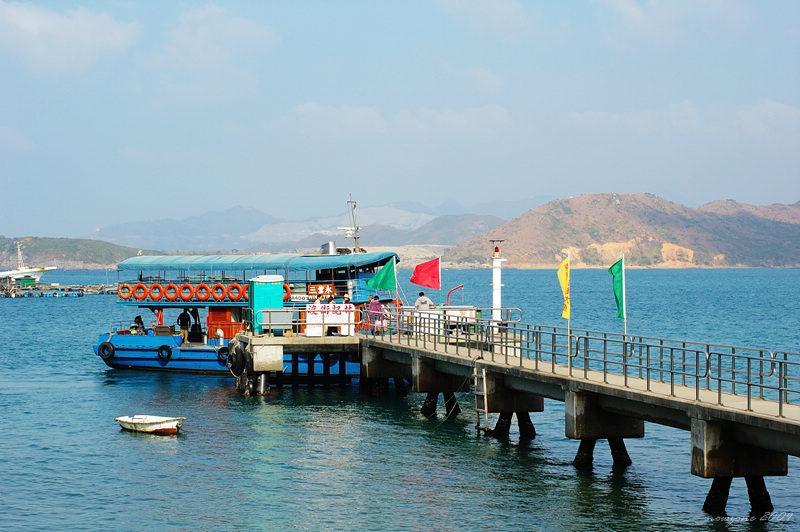 東龍洲南堂碼頭 Nam Tong Pier