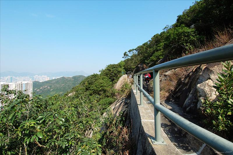 渣甸山北架空引水道 (懸空棧道) Jardine's North Elevated Catchwater