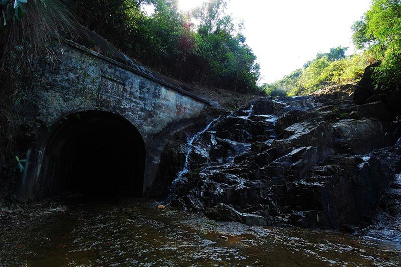 黃泥墩水塘龍口瀑