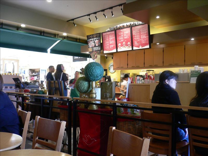 Jusco 北谷店內的Starbucks
