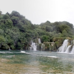 Krka Park falls