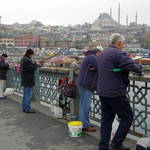 fishing in the Golden Horn