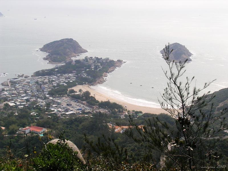 Shek O, Tai Tau Chau and Ng Fan Chau 石澳,大頭洲及五分洲