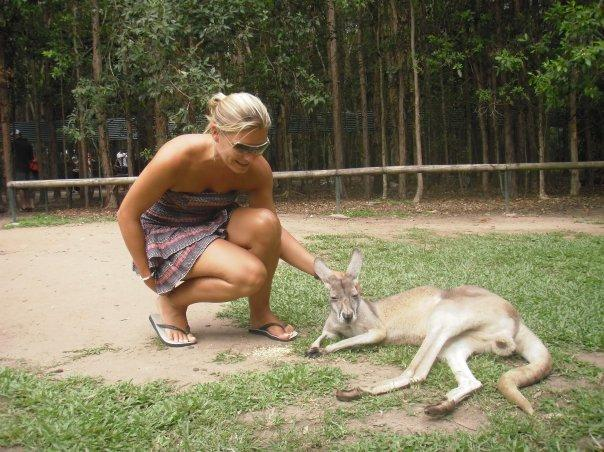 We met some 'roos'!