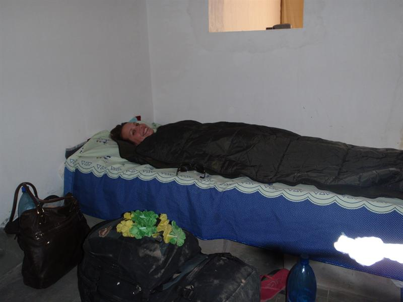 First night in our quality hostel
