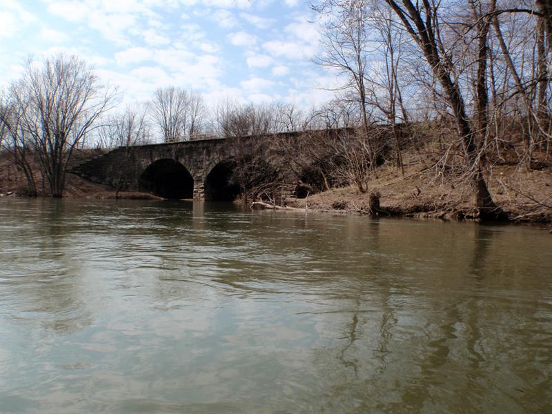 Big Buffalo Creek Railroad Bridge