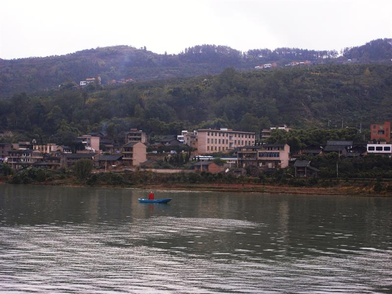 sailing down the yangtze